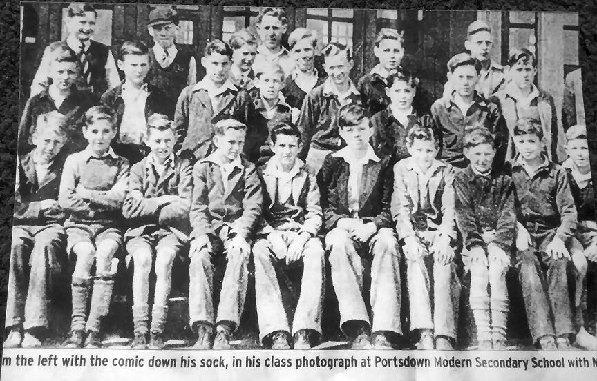 Portsdown senior boys school 1948